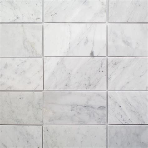 3x6 marble tile shop for speranza carrera 3x6 polished marble tile at tilebar com
