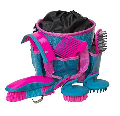 grooming horse kit brush weaver leather beginners equestrian piece brushes kits hoof description amazon called
