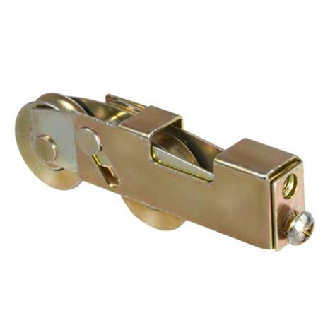 end adjust tandem patio door rollers hardware
