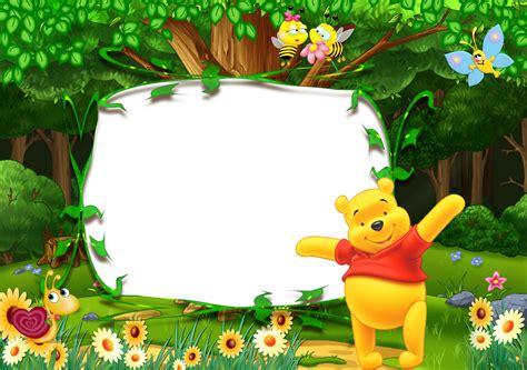 Winnie The Pooh Kids Transparent Photo Frame Gallery