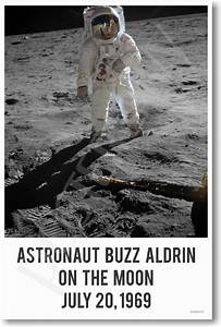 Buzz Aldrin On The Moon July 20,1969 - NEW NASA Space ...