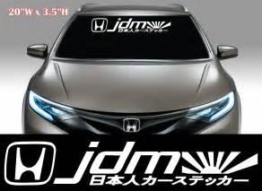 jdm sticker on jdm stickers on windshield www pixshark com images
