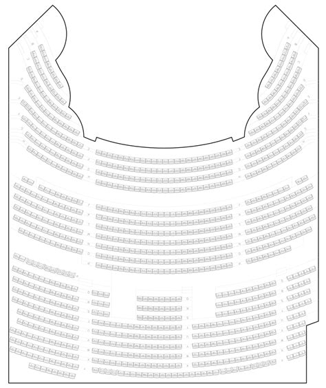 genesee theatre seating chart