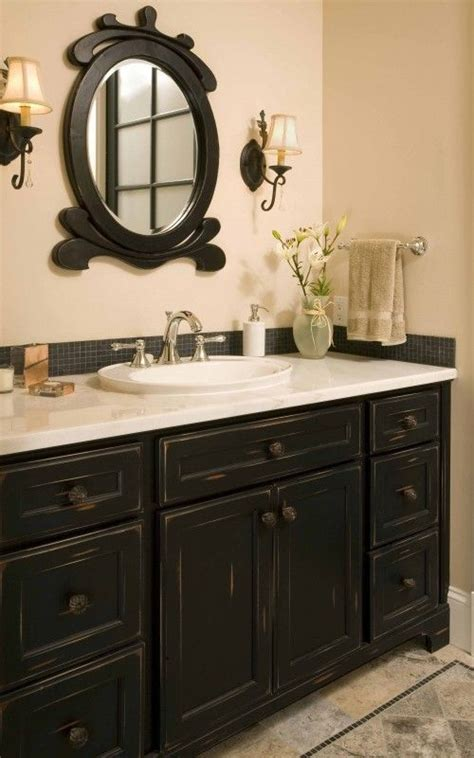 Black Cabinets Bathroom by Best 25 Black Cabinets Bathroom Ideas On