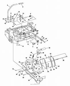 Bunton  Bobcat  Ryan 942220a  48 Side Discharge Parts Diagram For Steering