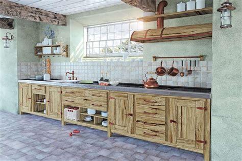 idee per cucine in muratura come realizzare una cucina in muratura fai da te