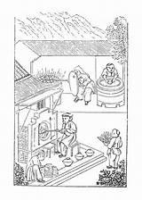 Kiln Illustrations Clip Porcelain Illustration Vector sketch template
