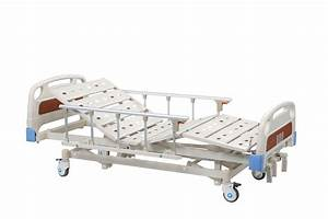 Crank Drive Hospital Bed Manual   Three Function Medical