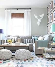 deco canapé gris déco salon gris 88 idées pleines de charme