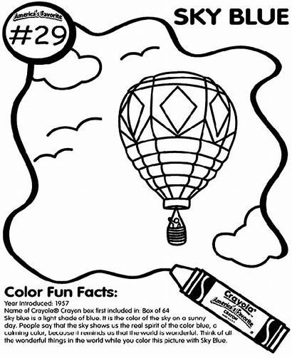 Coloring Sky Pages Crayola