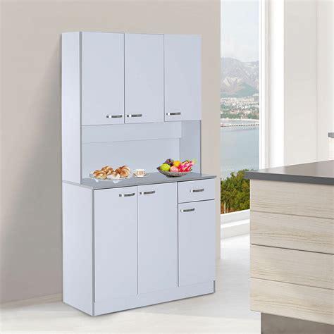 Kitchen Storage Cabinets by Kitchen Storage Pantry Cabinet Table Shelf Organizer