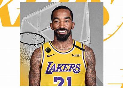 Lakers Smith Sign Jr Angeles Los