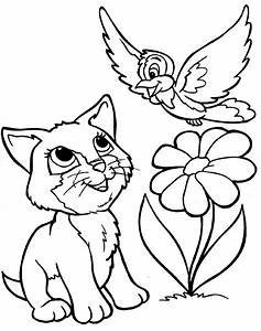Cute Baby Animal Coloring Pages 18 Image