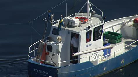 Fishing Boat Jobs Poole by Lake Lake V 228 Nern Sweden Aerial Hd Stock Video 809