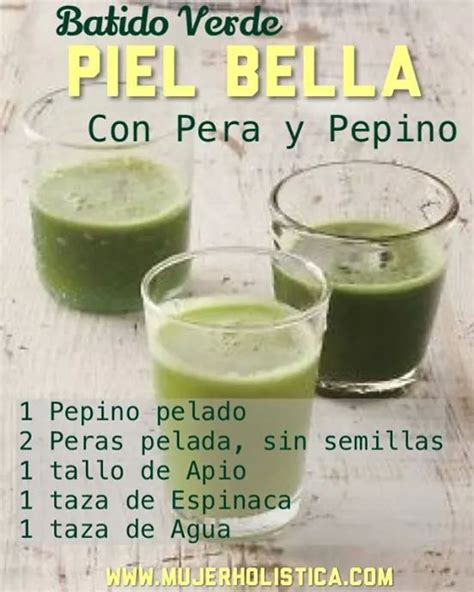 la cuisine de bebert batido pera y pepino food and drinks salut