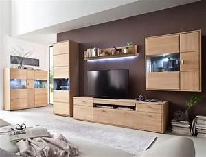 Wohnzimmer Eiche Massiv : wohnzimmer torrent 32 eiche bianco 5 teilig wohnwand highboard vitrine wohnbereiche wohnzimmer ~ Markanthonyermac.com Haus und Dekorationen