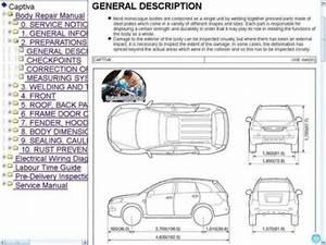 Chevrolet Captiva Y Captiva Sport Manual De Taller