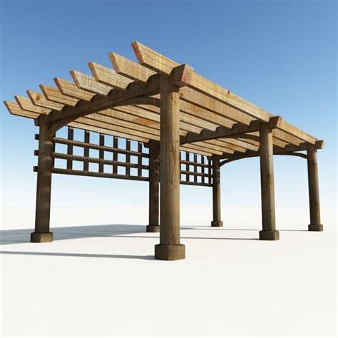 tettoie in legno dwg pergolato in legno tettoie e pensiline