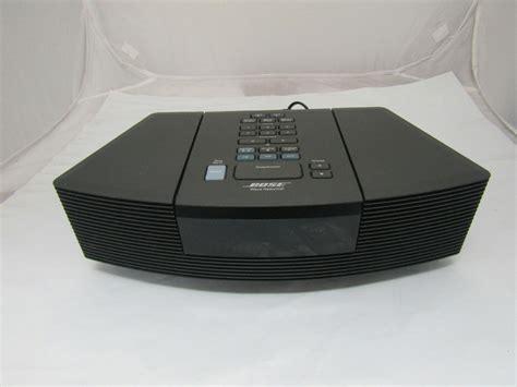 bose cd radio bose wave radio cd player alarm clock awrc 1g black no