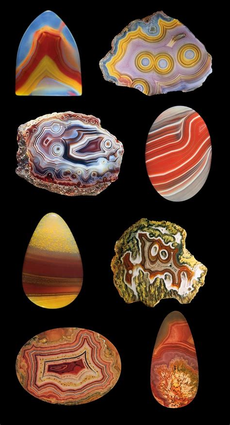 what color is agate the wonderful world of gemstones agate gemstone overview