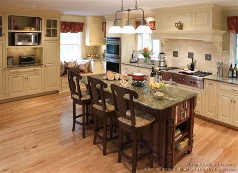 kitchen design ideas with islands pictures of kitchens traditional two tone kitchen