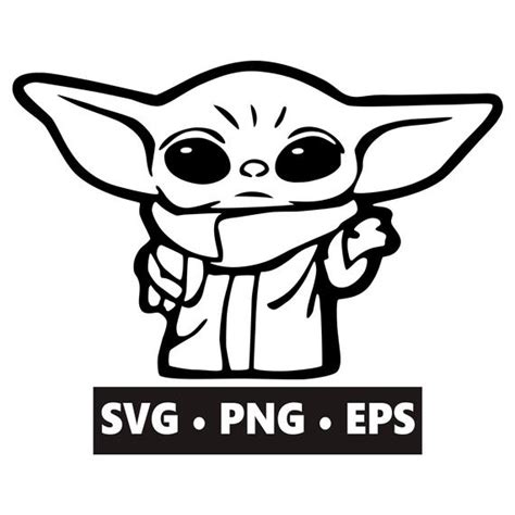 Here are the 16 absolutely adorable animal faces cut files (svg, png, dxf & eps) for you! Baby Yoda SVG Instant Download Digital Download Baby Yoda ...