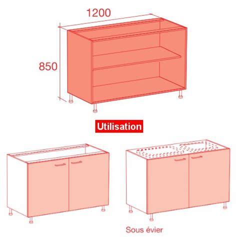 plan de travail cuisine largeur 100 cm meuble caisson bas largeur 120 vial menuiserie