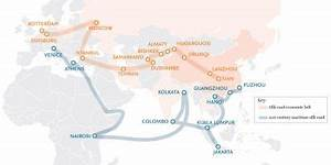 Infographic: How China's One Belt, One Road initiative ...