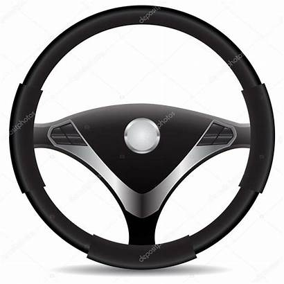 Wheel Steering Illustration Clipart Vector Voiture Volant