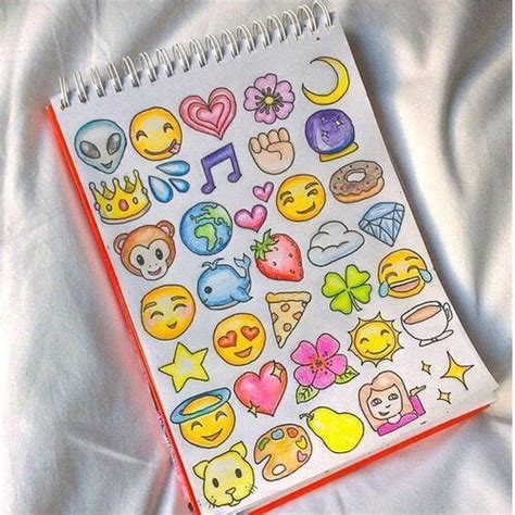 inspirational new emojis for iphone art draw drawing inspiration tumblr emojis cool art Inspi