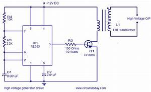 High Voltage Generator Circuit