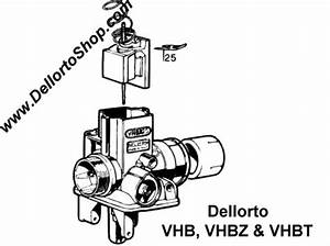 25  Needle Clip For Dellorto Vbh Vhbt And Vhbz Carburetors