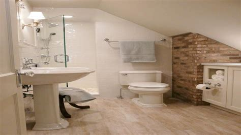 Cute Tiny Attic Bathroom Ideas Sloped Ceiling Collections