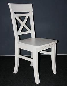 Weisse holzstuhle stuhl ideen for Küchenstuhl wei