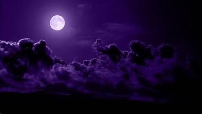 Purple Moon Wallpapers Space Imagescicom Desktop Dark