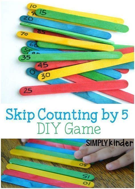skip counting   diy game  images kindergarten