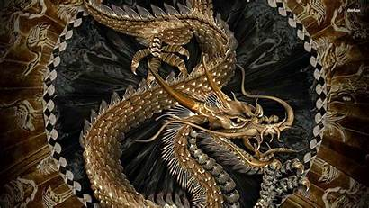 Dragon Chinese Japanese Wallpapers Carved Desktop 3d