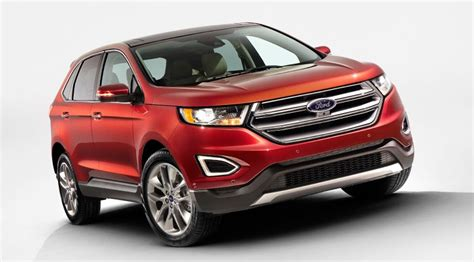 ford edge crossover ford edge 2015 first pictures of new european suv by