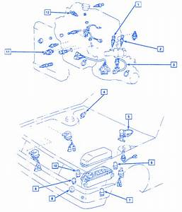 Chevrolet Nova 1988 Engine Electrical Circuit Wiring