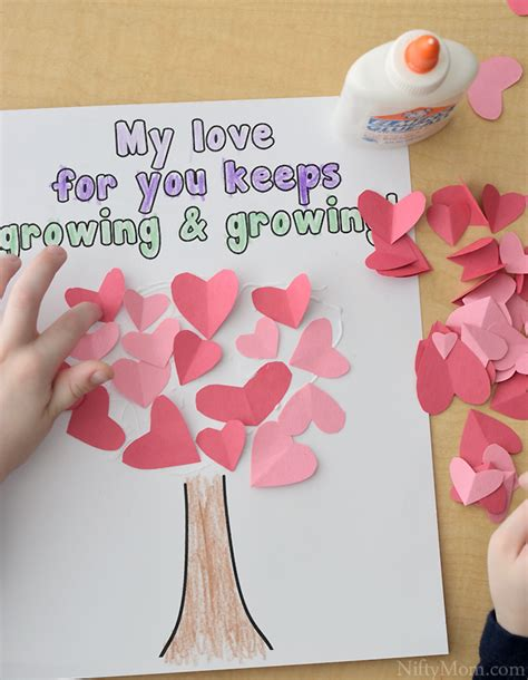 preschool mothers day crafts tree craft for s day 919