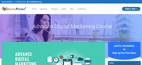 digital marketing course details top 10 digital marketing institutes in delhi courses in