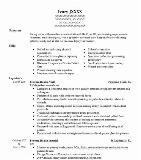 Rn Resume Objective by Rn Objectives Resume Objective Livecareer