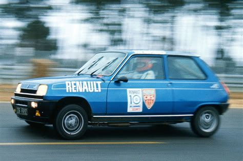 renault small super cinqs four decades of small fast renaults influx