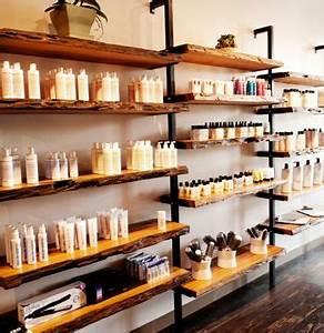 Hawthorn Salon organic shelving