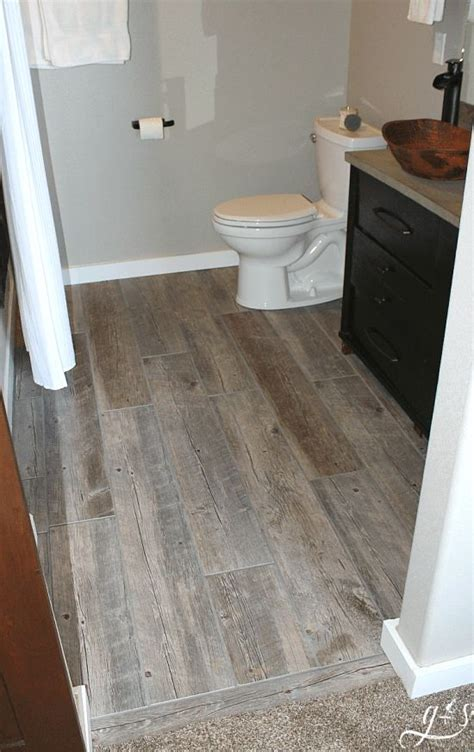 Bathroom Floor Tiles Designs by How To Tile A Bathroom Floor With Plank Tiles Blogs That