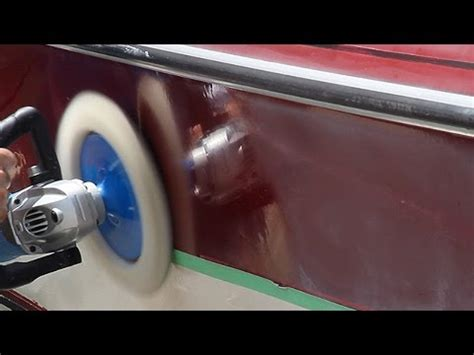How To Polish A Fiberglass Boat Hull by You Too Can Restore The Shine And Color To Your Gelcoat