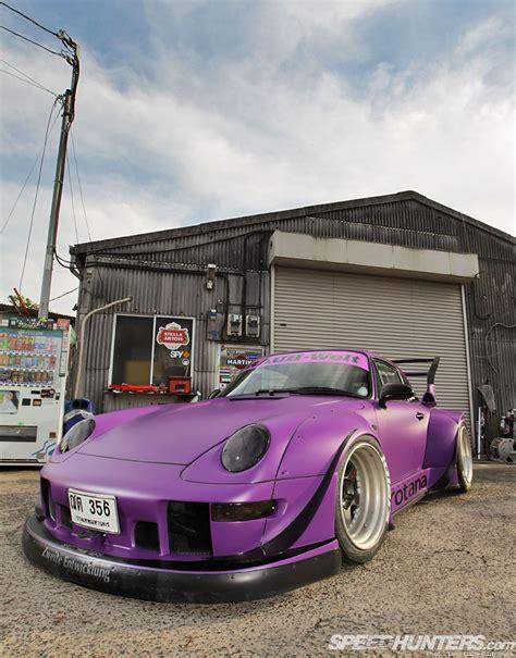 porsche rwb purple rauh welt begriff archives speedhunters