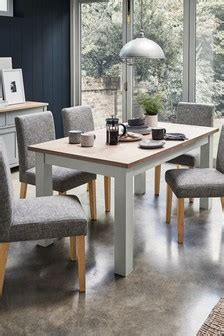 grey dining tables grey  rectangle dining tables