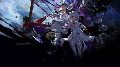 Rezero Wallpapers Zero Re Emilia Anime Starting