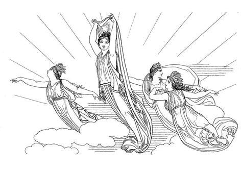 malvorlage odysseus circe ausmalbild